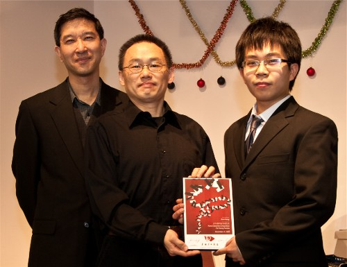 Ken Yang wins Piano Concerto Competition 2009