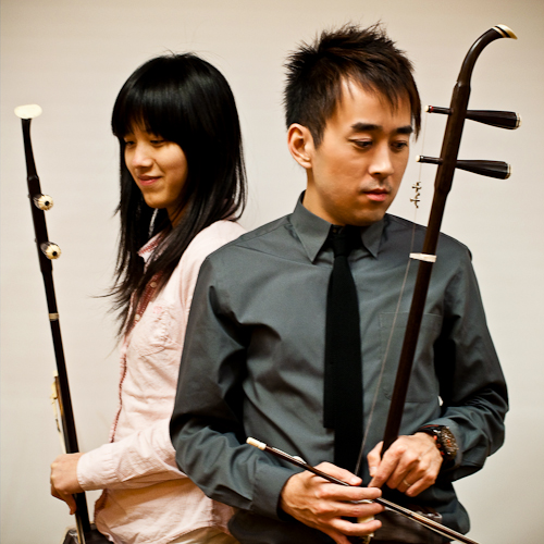 Wil Lau and Amely Zhou awarded a second prize at 2010 Kiwanis for erhu duet
