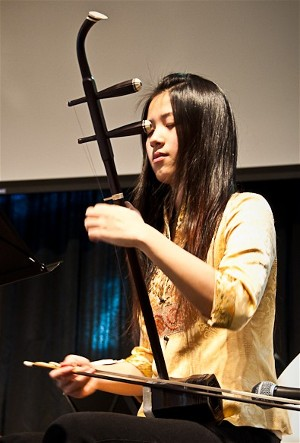Amely Zhou awarded a first prize at 2010 Kiwanis for erhu
