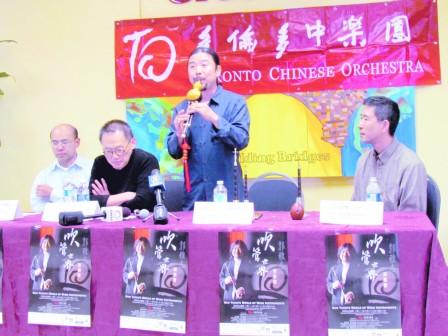 2011年9月21日明報: 中國第一嗩吶首來多市獻技
