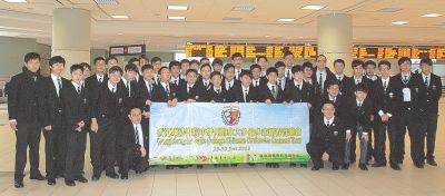2012年1月26日星島日報:喇沙書院中樂團抵多 28日表演