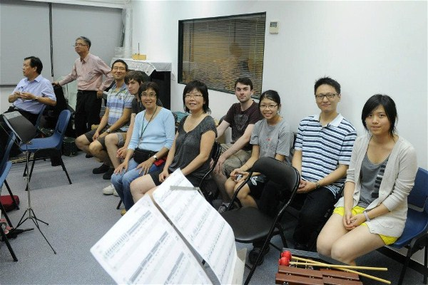 Rehearsal visit: Hong Kong Music Lover Chinese Orchestra 香港愛樂民樂團