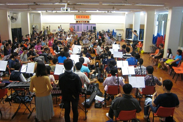 Rehearsal visit: New Tune Chinese Orchestra 新聲國樂團