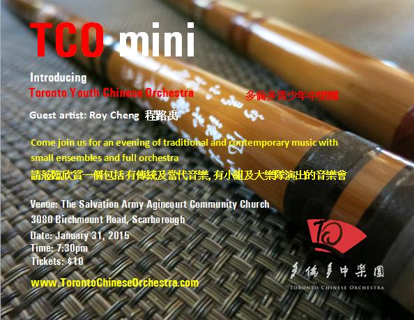 TCO mini Concert 2015-01-31 音樂會