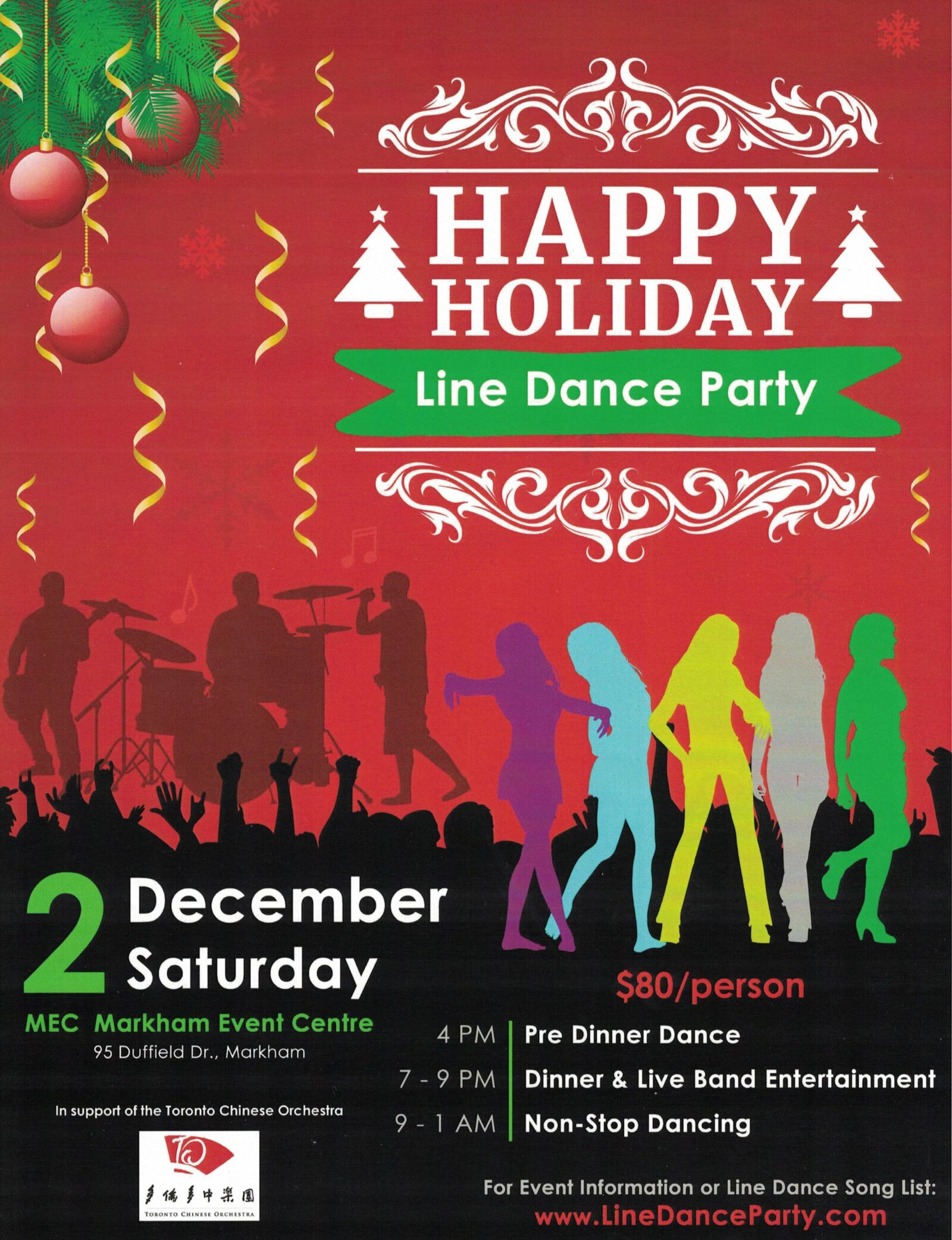 2017-12-02 Happy Holiday Line Dance Party