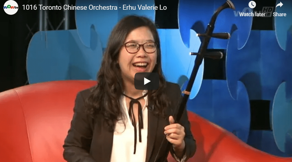 2018-10-16 WOWTV Interview: Valerie Lo, erhu