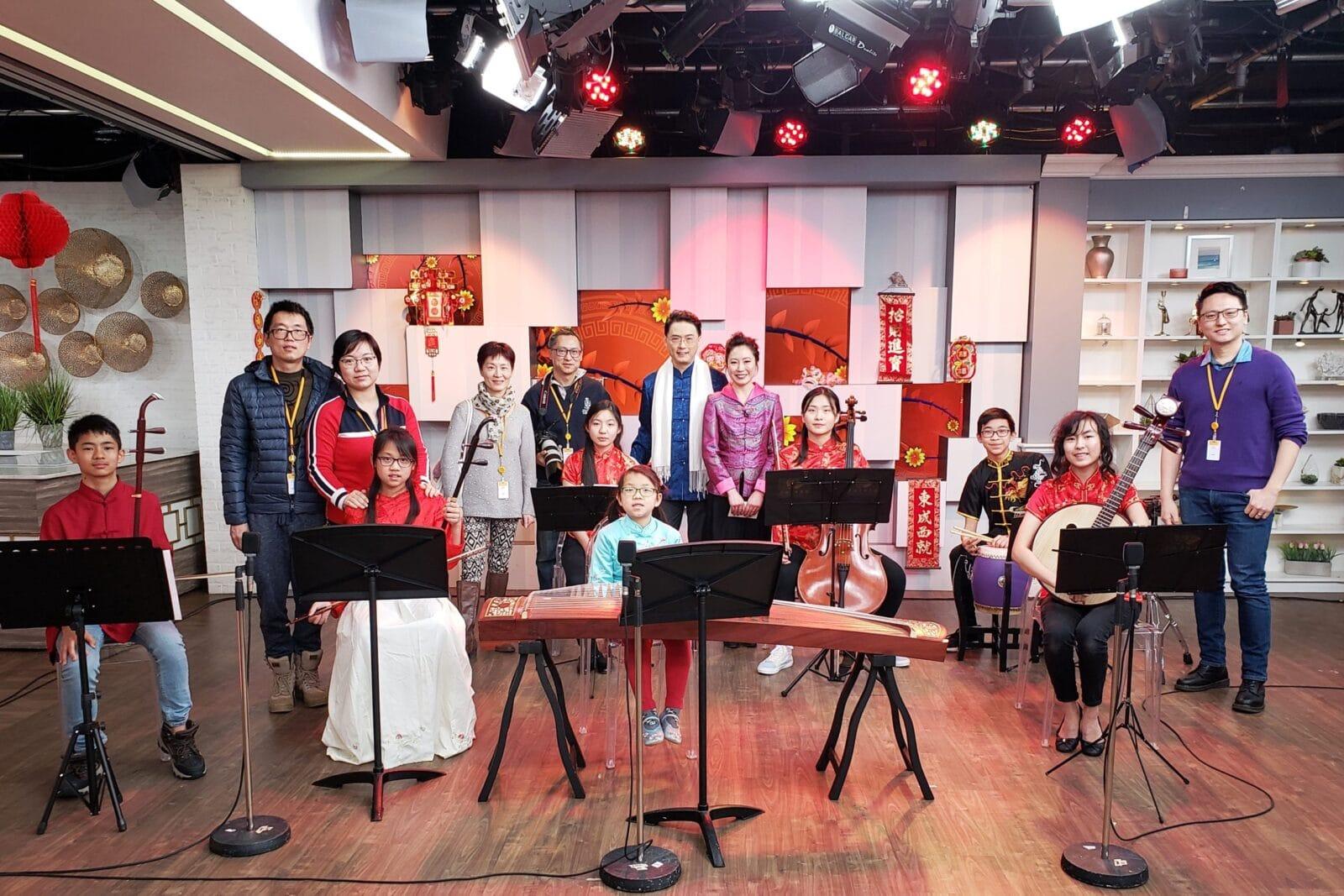 多倫多青少年中樂團 (TYCO) – OMNI TV 新年表演